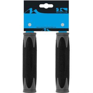 Handvat Comfort Shock Absorbing 130mm 410203 Zwart/Grijs
