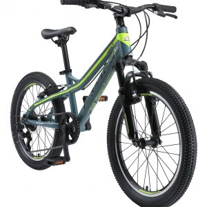 Bikestar 20inch Hardtail MTB Schijfrem Petrol Groen