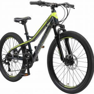 Bikestar 24inch Hardtail MTB 21 Speed Zwart Groen