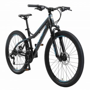 Bikestar 26inch Hardtail Alu MTB 21 Speed Zwart Blauw