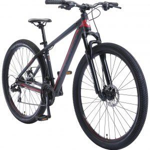 Bikestar 29inch 21 Speed Hardtail Sport MTB Zwart Rood