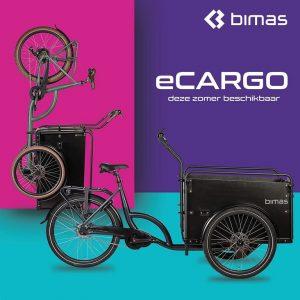 Bimas ECargo 3.3 Bakfiets 17,5AH Bafang 250 Mid-motor