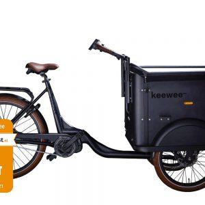 Keewee Bakfiets Bafang M420 Middenmotor 470 Wh accu – 2021
